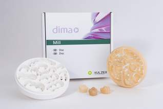 dima Mill Zirconia Group shades